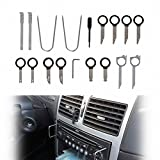 Kyпить HiYi 20pcs Car Door Panel Trim Audio Radio Removal Tools Stereo Headunit Audio Keys Navigation Dash Install Disassemble Pry Tools Kit (Color: Silver & Black) на Amazon.com