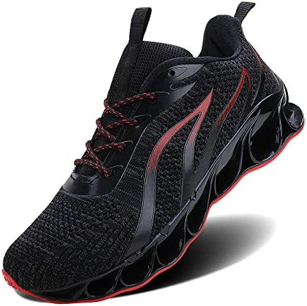 5141HY8jHYL. AC TIAMOU Men Running Walking Shoes Sport Athletic Wihte Jogging Sneakers    Product Description