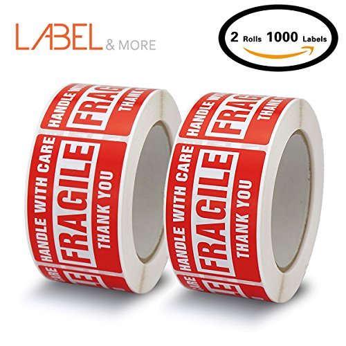 Fragile Stickers For Shipping and Home Moving Handle With Care 2