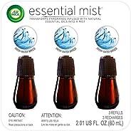 Air Wick Essential Mist, Essential Oil Diffuser Refill, Fresh Water Breeze, 3 Count, Air Freshener , 2.01 oz