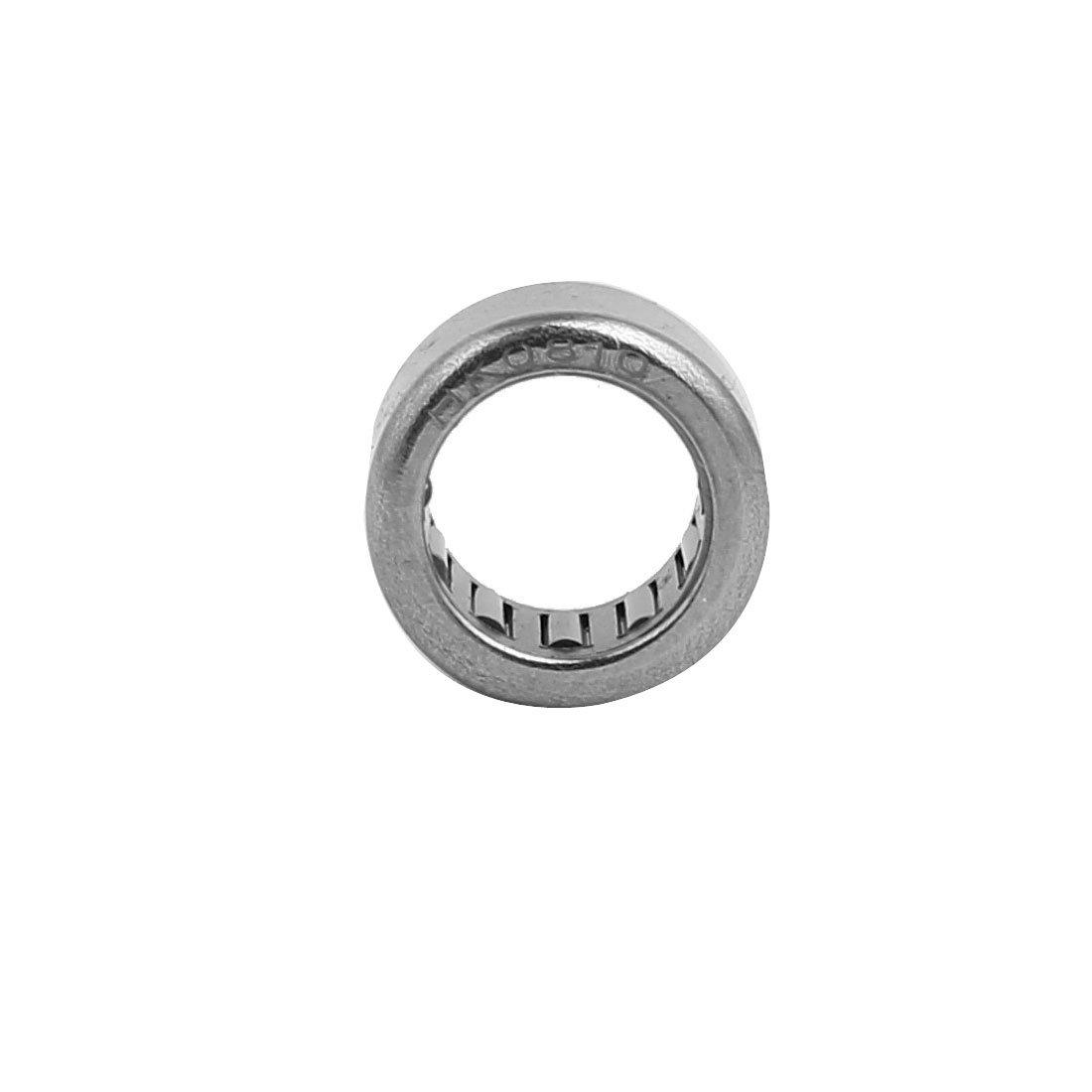HK0810 Vollrolliges Metrisches Drawn Cup Nadel Roller Lager 8mmx12mmx10mm sourcing map 10stk