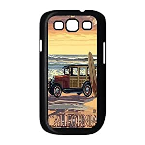 Customized Durable Case for Samsung Galaxy S3 I9300, California Love Phone Case - HL-527925
