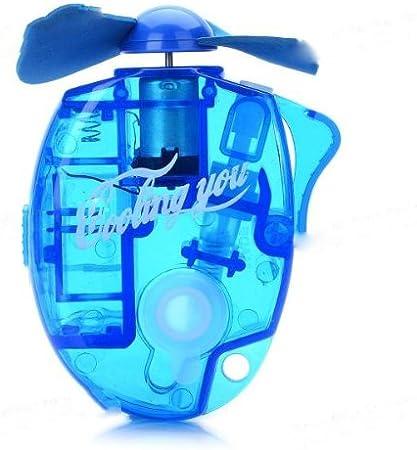 BestOfferBuy Mini Ventilador de Mano a Pilas Pulverizador ...