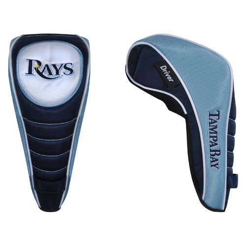(MLB Tampa Bay Rays Shaft Gripper Driver Headcover - Navy Blue)