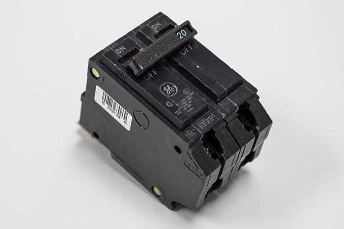 GE THQB2130 Bolt-On Mount Type THQB Miniature Circuit Breaker 2-Pole 30 Amp 120/240 Volt AC