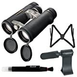 Vanguard Endeavor ED 10x42 Binocular with Harness + Tripod Adaptor + Lens Pen + Accessory Kit