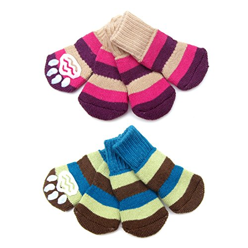 Alfie Pet by Petoga Couture - Renny 2 Set of 4 Dog Paw Prote