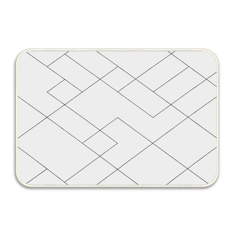 Amazon.com: Geometric Shaped Lines Squares Chevron Graphic ...