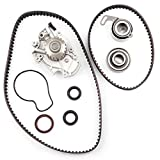 water pump honda - Timing Belt Water Pump Kit ECCPP TBK244 for Honda Accord Odyssey Acura CL Isuzu Oasis 2.2L 2.3L L4 SOHC 16 Valves Engine F22B1 F23A1 F23A4 F23A5 F23A7