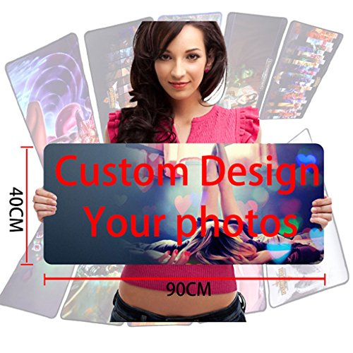 ToLuLu174;Gaming Mouse Pad Extra Large Size - 35.4 x 15.7 x 0.11 inches,Custom Design