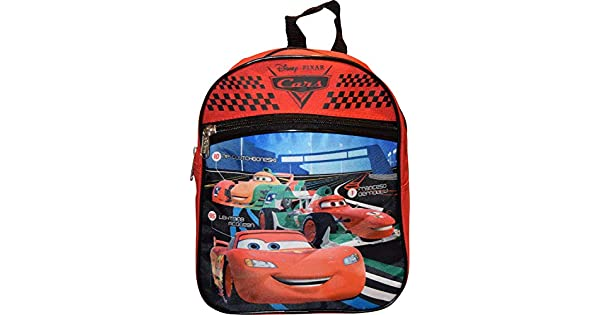 Amazon.com: Disney Cars Rojo 10 inch Mini Mochila ao4011 ...