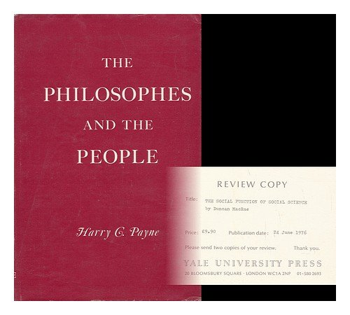Philosophers and the People (Historical Publications)
