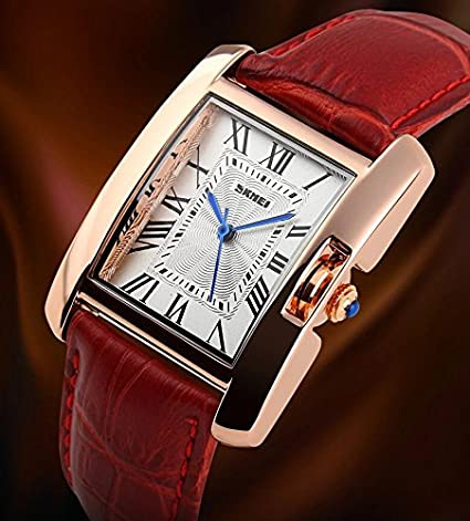 Amazon.com: Reloj De Dama Para Mujer Women Watches Roman Numbers Casual Women Wristwatch Relogio Feminino RE0032: Watches