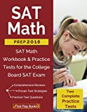 img - for SAT Math Prep 2018 & 2019: SAT Math Workbook & Practice Tests for the College Board SAT Exam book / textbook / text book