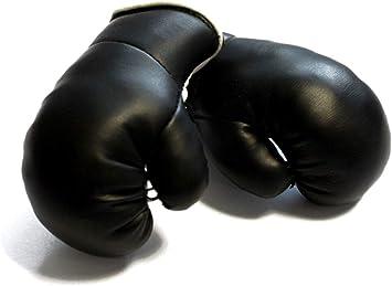 Sportfanshop24 Mini Boxhandschuhe Schwarz 1 Paar 2 Stück Miniboxhandschuhe Z B Für Auto Innenspiegel Auto