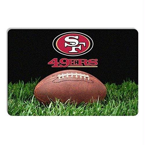 - Pet Care Preferred San Francisco 49ers Classic Football Pet Bowl Mat