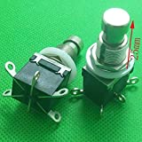 TTONE New 10 pcs Footswitch Electric Guitar Effects Pedal Button Switcher 6-Pin DPDT Foot Switch