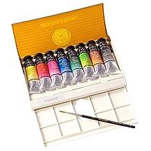 Sennelier Watercolor Travel Box 8 Tube Set