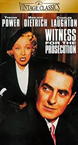 Witness for the Prosecution [VHS]