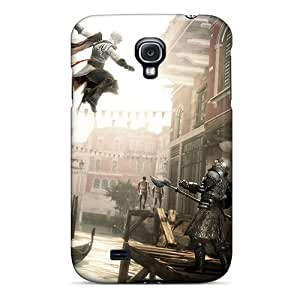 Flexible Tpu Back Case Cover For Galaxy S4 - Assassins Creed Ii