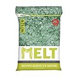 Snow Joe MELT25EB MELT 25 Lb. Resealable Bag Premium Environmentally-Friendly Blend Ice Melter w/ CMA (2)
