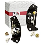 T1A Tailgate Latch and Striker Bolt Set Replacement for 1999-2006 Chevy Silverado and GMC Sierra, fits Driver and Passenger Sides, Metal, Fits Rear Right and Left Sides