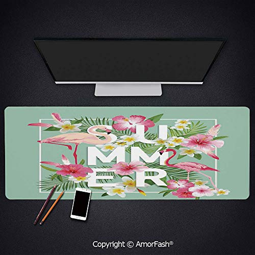 - Customized Gaming Mouse Pad,Non-Slip Rubber,Large,4mm Thick for Office & Home,35.5