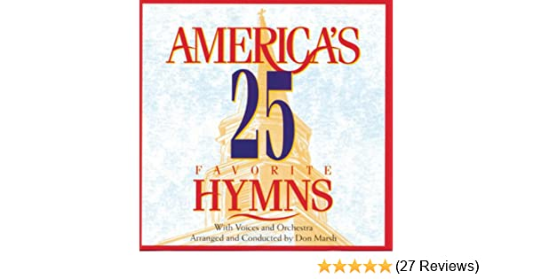 America's 25 Favorite Hymns by Studio Musicians on Amazon