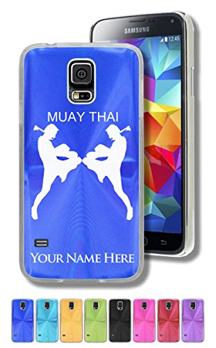 Personalized Case/Cover for Samsung Galaxy S5 - MUAY THAI FIGHTERS - Engraved for FREE