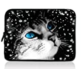 Blue Eye's Cat Universal Zip Bag 7
