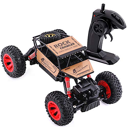 Rc Cars-Remote Control Car RC Car for Boy Gifts RC Car for Birthday Gift Radio Control Road Vehicle Toys for Boy 1:16 Racing Car 4 WD Rally RC Cars Rock Crawlers Gifts for Boys/Student