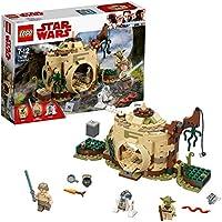 LEGO Star Wars - Star Wars Cabaña de Yoda, juego de construcción, (75208)