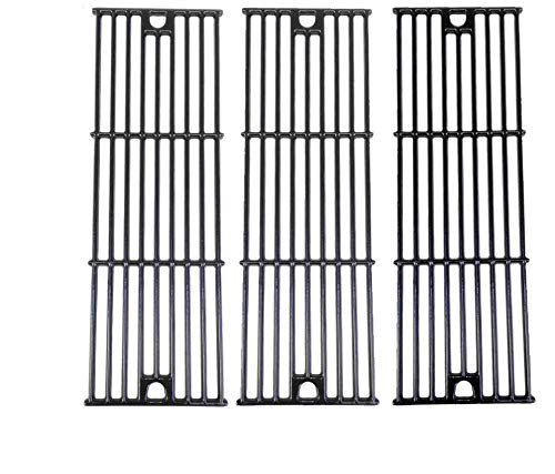 Grill Parts Gallery Porcelain Cast Iron Cooking Grid for Home Depot 1224, 1329, 1334, 2121, 2123, 2137 & Lowes 5050 Models, Set of 3 by Grill Parts Gallery