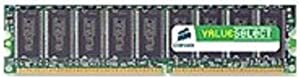 Corsair Value Select Memory - 256 MB - DIMM 184-pin - DDR (VS256MB400)