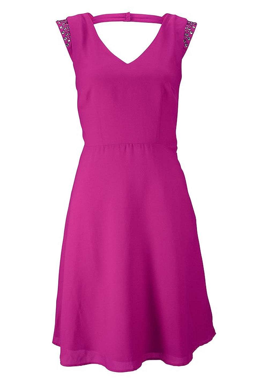 pink Buffalo Damen Marken-Kleid mit Strass