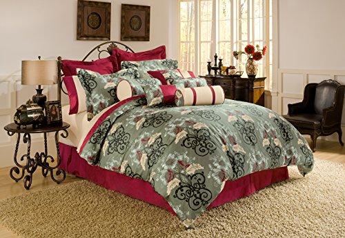 Pointehaven 4-Piece Coronado Comforter Set, Full - Coronado Comforter