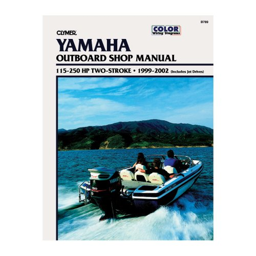 Clymer 115-250 HP Two-Stroke Outboard & Jet Drives (1999-2002) Marine , Boating - Marine Jet Drives