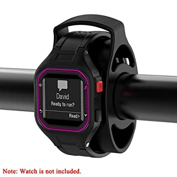 Auto Echo bicicleta Reloj Soporte para Garmin Approach S1 S3 Fenix precursora GPS Reloj con silicona