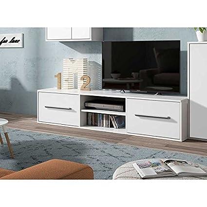 Mueble TV salón comedor Color blanco muebles television ...