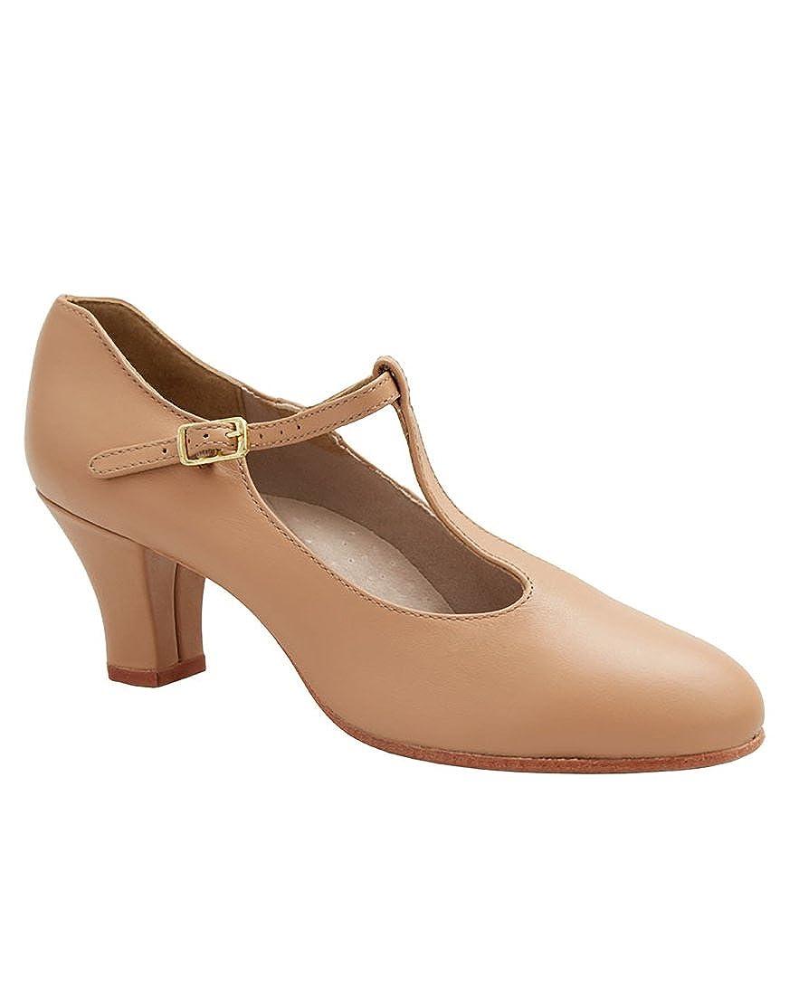 [Capezio] Women 's 700 TストラップCharacter Shoe B07GFSCKRW キャラメル 5.5