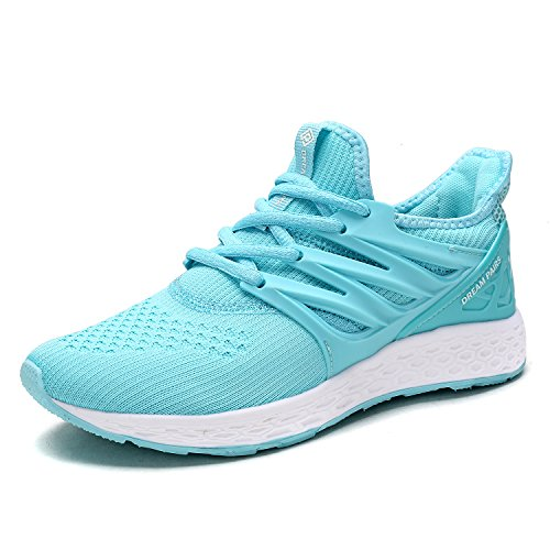 DREAM PAIRS Women's 170330-W Mint Comfortable Soft Lace-up Running Shoes Size 11 M US