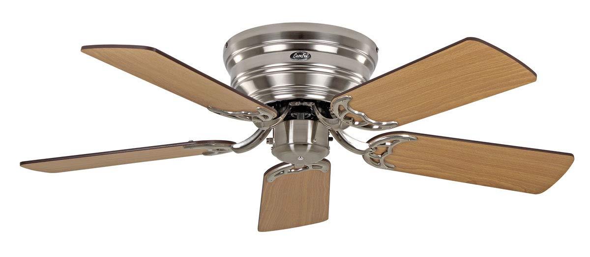 Unbekannt Casafan Deckenventilator Flat 103-III BN Chrom geb/ürstet Ventilator 4024397365975