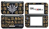 Monster Hunter 4 Ultimate Generations 3 World Video Game Vinyl Decal Skin Sticker Cover for the New Nintendo 3DS XL LL 2015 System Console