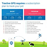 Tractive Dog GPS Tracker – Lightweight and waterproof dog tracking device with unlimited range