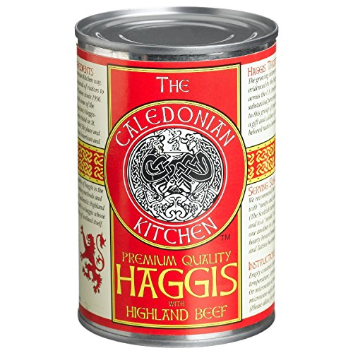- Caledonian Kitchen Haggis With Highland Beef, 14.5-Ounce Can