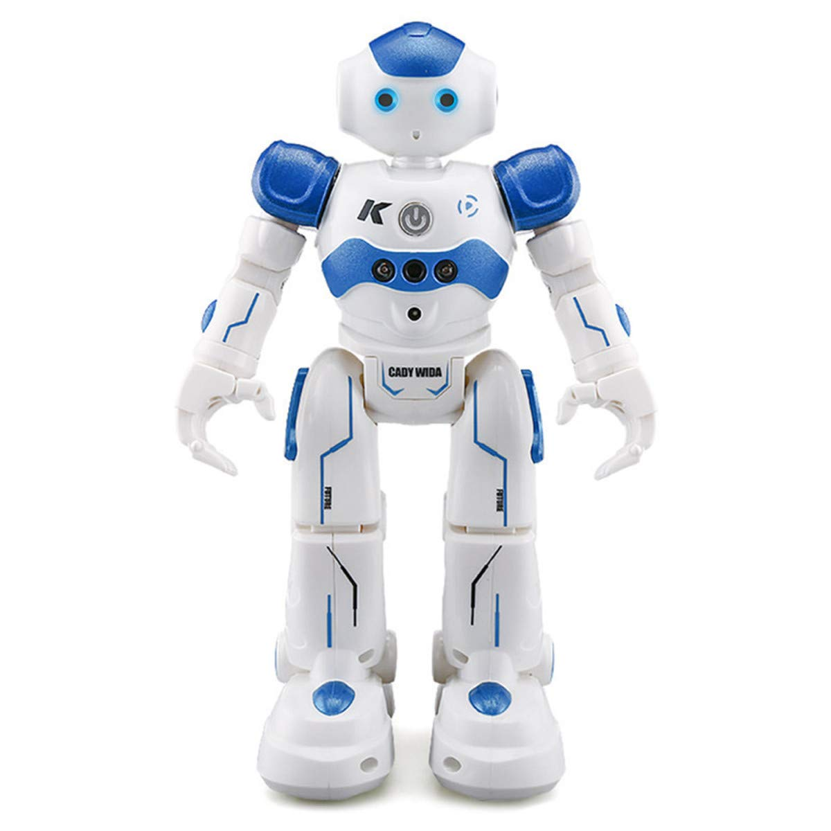 WEECOC Smart Robot Toys Gesture Control Remote Control Robot Kids Toys Birthday Can Singing Dancing Speaking Two Walking Models (White) by WEECOC (Image #2)
