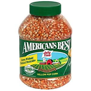 Amazon.com: Jolly Time Pop Corn, America's Best Yellow 30