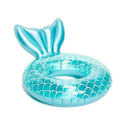 Amazon.com: Mankvis - Anillo hinchable para natación, diseño ...