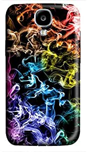 carry Samsung S4 case Abstract Colors Cool 3D cover custom Samsung S4