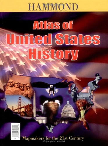 Atlas of United States History with Map of Presidents with Charts